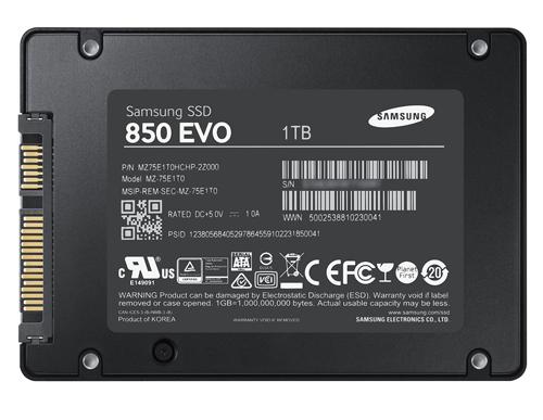 Samsung 850 EVO 1 TB SSD