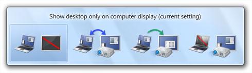 Projector Tricks in Windows 7