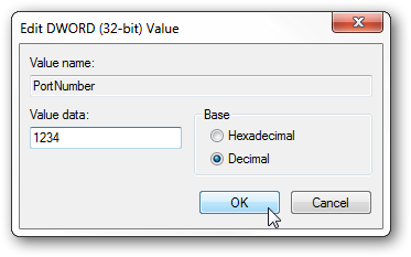 Change Remote Desktop RDP Port