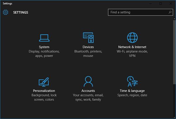 Enable Dark Mode Theme on Windows 10