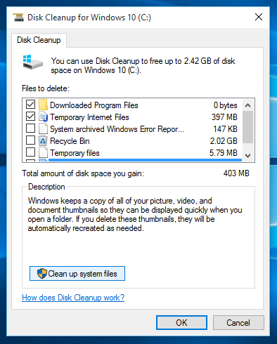 Free Up Disk Space By Cleaning The Windows Old Folder