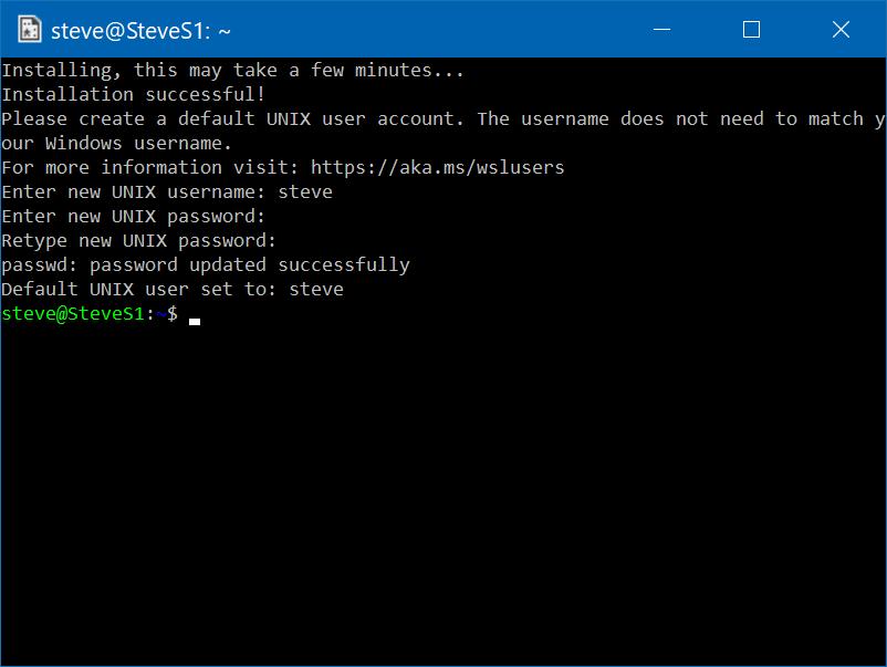 Run Kali Linux on Windows 10