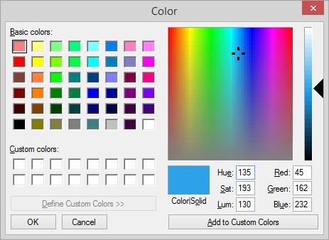 Comment - hexadecimal colors