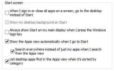 how to get to desktop when startup