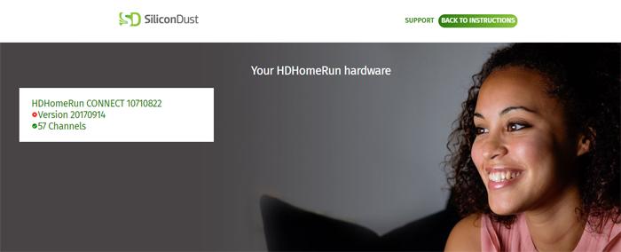 HDHomeRun Setup
